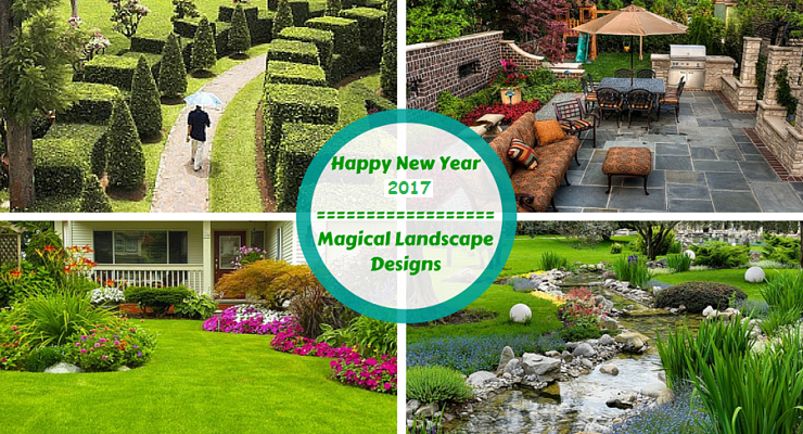 Landscape Designs New Year 2017