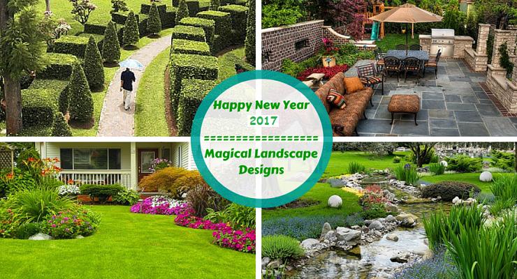 Landscape Designs New Year 2017