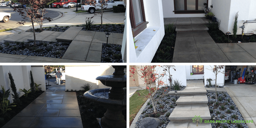 Concrete and Natural Stones for Landscaping