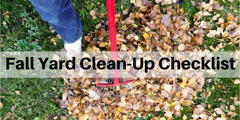 Fall Clean-Up Checklist