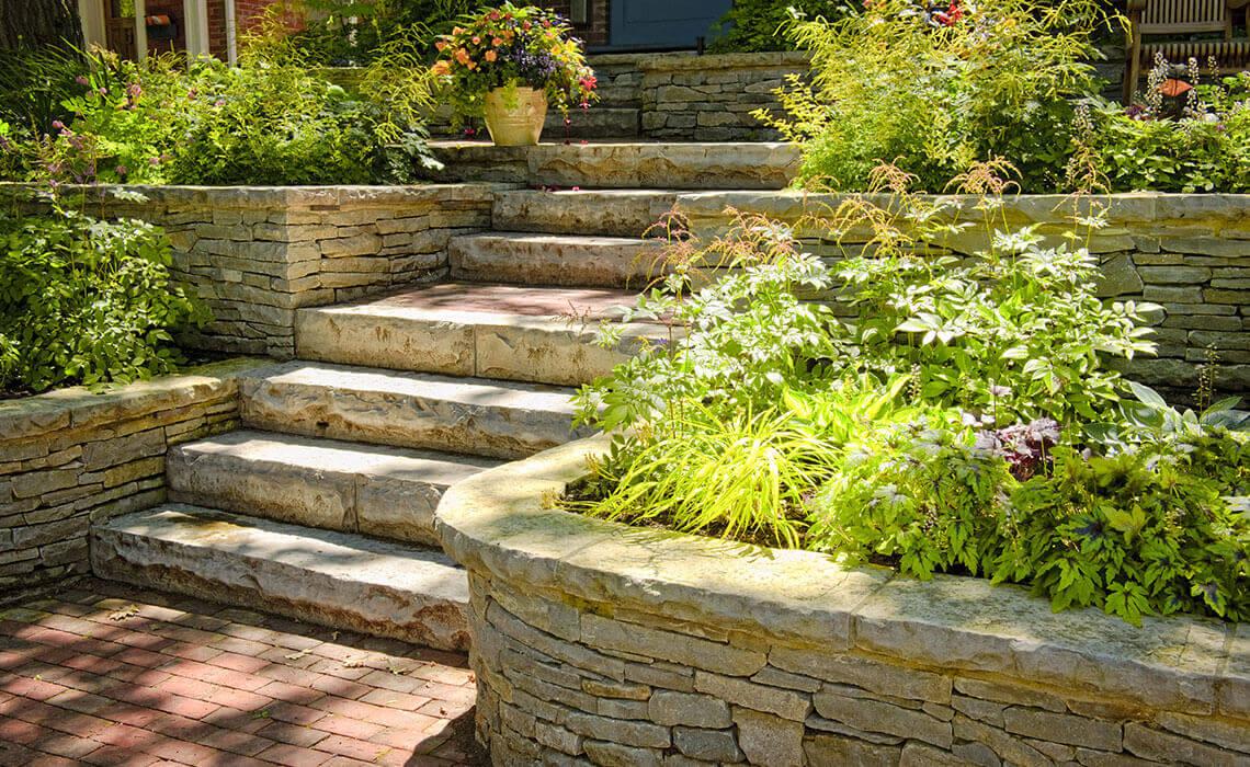 Retaining Stone Walls